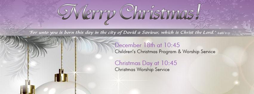 Join Us Sunday December 18th For Our Children's Christmas Program