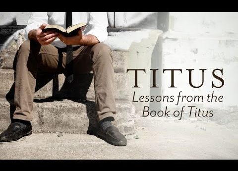 "Wednesday Nights. Titus - ""Setting Things In Order"""